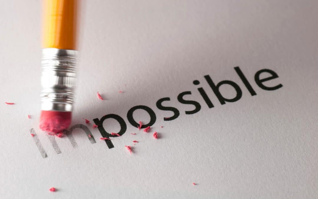 Don't Be Impeded by the Impossible (August 1)