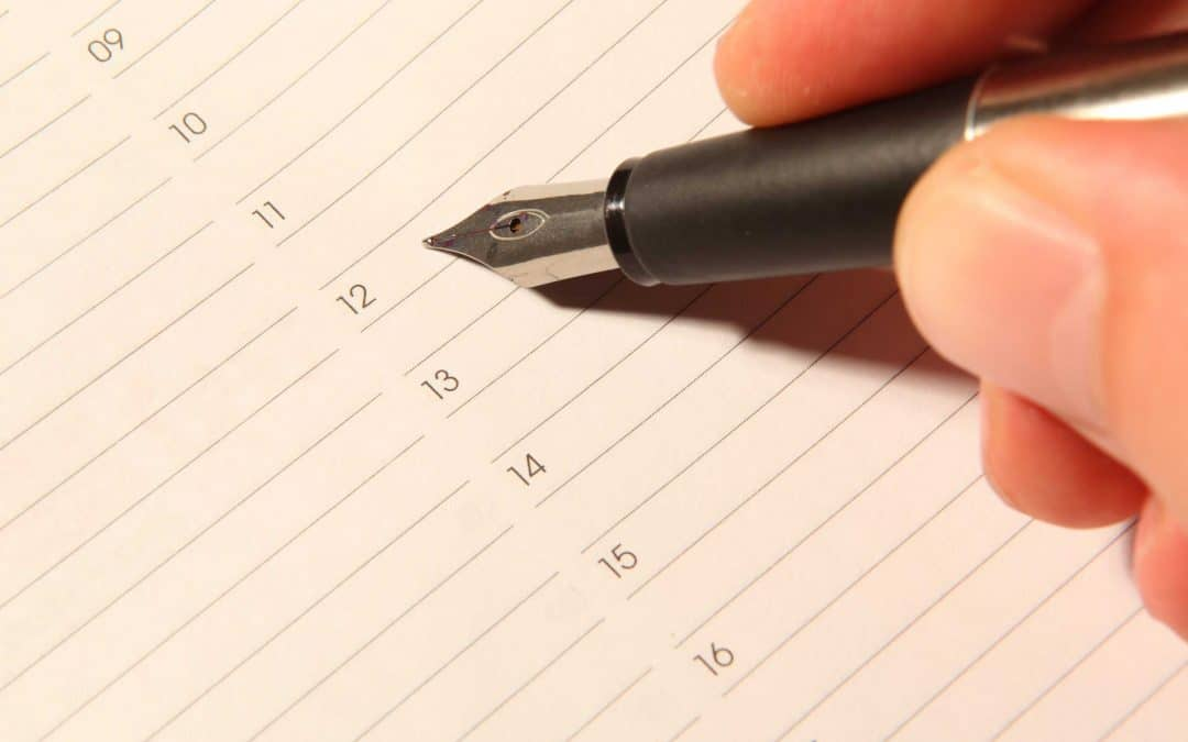Schedule Books and Sacrifice